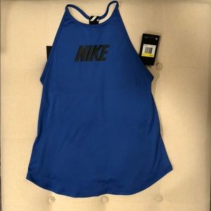 Nike women's slim fit dry fit training tank sz Sm
